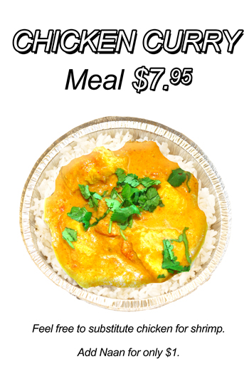 Chicken Curry Bowl