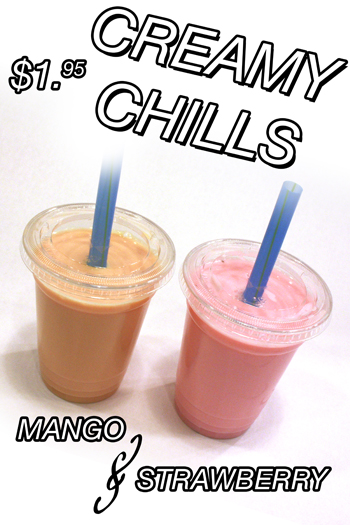 Mango and Strawberry Chill