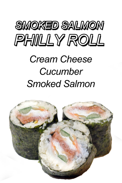 Salmon Philly Roll