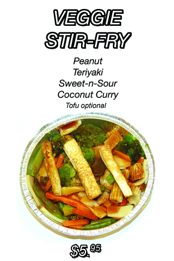 Peanut Teriyaki Sweet-N-Sour Coconut Curry